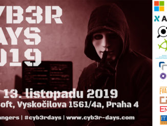 Konference Cyb3r Days 2019