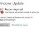 Windows Update vyžadují restart
