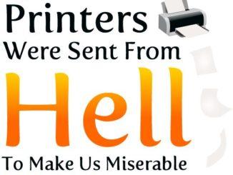 Tiskárny z pekla